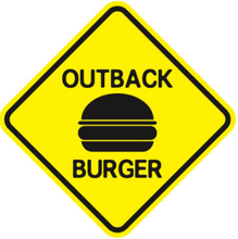 Outback burger