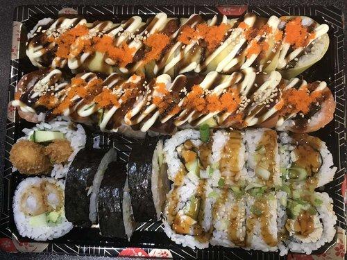 Voorstraat Sushi Box 29 stuks