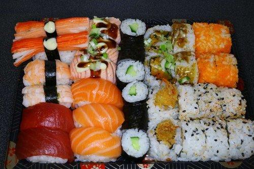 Mixed sushi (2 personen) 34 stuks
