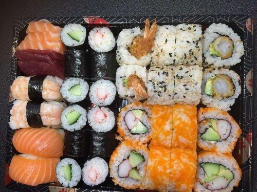 Sushi en Sashimi Mix 2p. 38st.