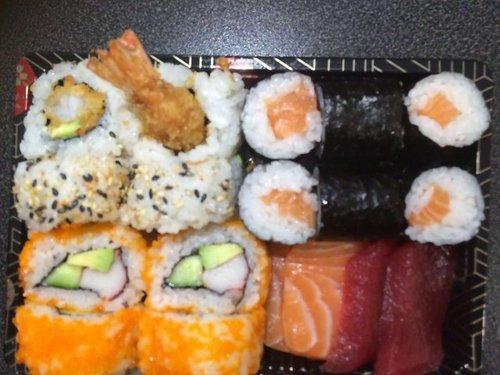 Sushi en Sashimi Mix 1p. 18st.