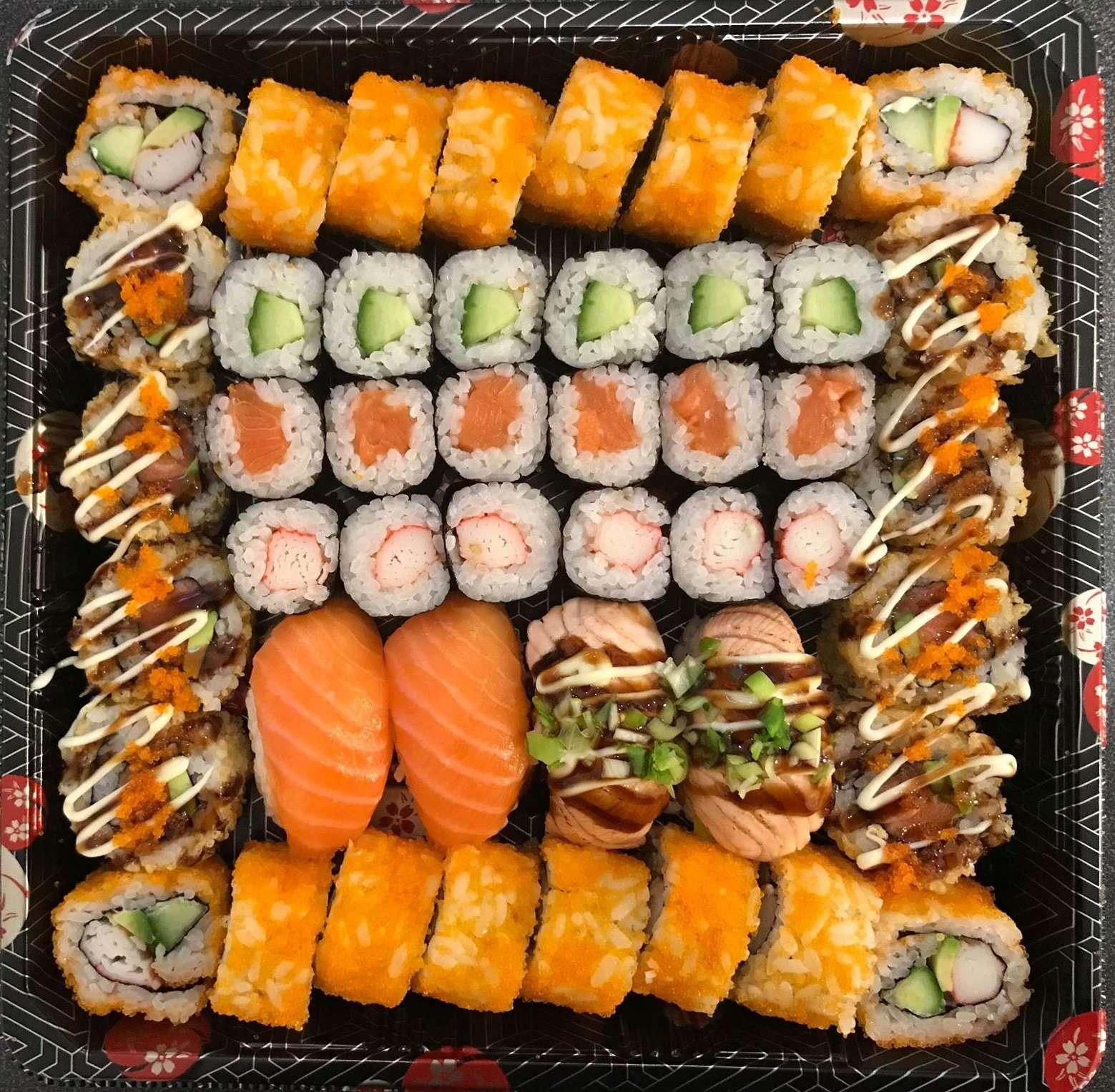 Oishi Sushi box 46 stuks